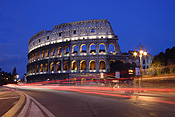Europe, Italy, Italian, Rome, architecture, colloseum, the colloseum, ruin, ruins, light, lights, lamp, lamps, street light, street lights, street lamp, street lamps, road, roads, sealed, sealed road, sealed roads, arch, arches, archway, archways, architecture, FF25,
