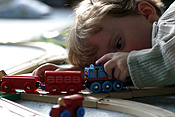 Child, children, girl, girls, female, females, male, males, boy, boys, train, trains, train set, train sets, track, tracks, train track, train tracks, PJ38,