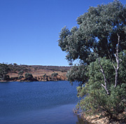 Australia, Reservoirs, Umberumberka reservoir, Broken Hill, Water Storage, New South Wales