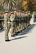Australia, australian, sa, south australia, adelaide, parade ground, parade grounds, parade, parades, army, australian army, armed forces, soldier, soldiers, uniform, uniforms, military, defence, defence forces, armed services, people, man, men, male, males, occupation, ocupations, hat, hats, military.