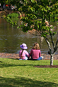 Australia, qld, queensland, people, child, children, garden, gardens, japanese, japanese garden, japanese gardens, toowoomba, great dividing range, qld, lawn, lawns.