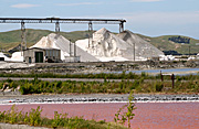 New images, new zealand, nz, salt, salt mine, salt mines, industry, mine, mines, mining, north island, grassmere.