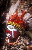 New guinea, papua new guinea, mount hagen, mt hagen, mount hagen show, mt hagen show, ceremony, ceremonies, man, men, male, males, feather, feathers, jewellery, necklace, necklaces, people, performer, performers, face paint, face paints, face painting, body paint, bodypaint, tribe, tribes, tribal.