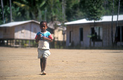 New guinea, papua new guinea, people, child, children, boy, boys, male, males, menari, central province, kokoda track, kokoda trail, boy, boys, male, males, house, houses, housing, hut, huts.