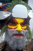 New guinea, papua new guinea, mount hagen, mt hagen, mount hagen show, mt hagen show, ceremony, ceremonies, hat, hats, man, men, male, males, jewellery, necklace, necklaces, people, performer, performers, hat, hats, beard, beards.