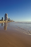 Australia, Qld, Queensland, Surfers Paradise, Gold Coast, Beach, beaches, Qld beach, Qld beaches, Queensland beach, Queensland beaches, coast, coasts, coastal, coastline, coastlines, seashore, seashores, shoreline, shorelines, water.