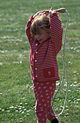 People, child, Children, girl, girls, female, females, skip, skips, skipping, rope, ropes, Australia, Sport pictures, Sports, balloon images, hot air balloons