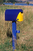 Pacific islands, new zealand, nz, akaroa, banks, banks peninsula, letterbox, letterboxes, mail, post, mailbox, mailboxes.
