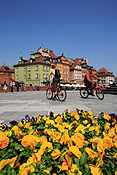 Europe, warsaw, poland, architecture, bicycle, bicycles, transport, transportation, vehicle, vehicles, cycle, cycles, cycling, cyclist, cyclists, bike, bikes, flower, flowers, FF25,