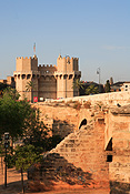 Europe, Spain, Spanish, Valencia, architecture, torres, quart, torres de quart, wall, walls, gate, gates, FF25,