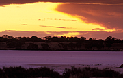 Australia, vic, victoria, mallee, lake, lakes, tyrrell, lake tyrrell, mallee district, salt, salt lake, salt lakes, mood, mood scene, mood scenes, sunset, sunsets, sunrises and sunsets, cloud, clouds.
