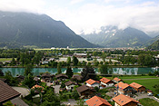 Europe, Switzerland, Swiss, Interlaken, ringgenberg, river, rivers, aare, river aare, aare river, house, houses, housing, alp, alps, swiss alps, mountain, mountains.
